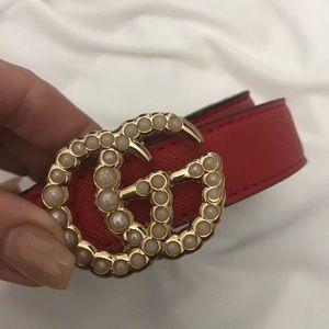 Vintage Gucci belt!